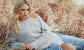 Sweater and Ripped Jeans