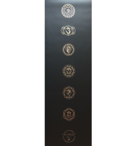 Back in Stock! VACKRALIV YOGA ECO PU CHAKRA YOGAMATTA 183 cm, 4 mm & YOGAVÄSKA