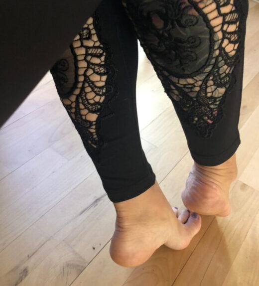 leggings lacework