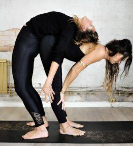 New! VACKRALIV YOGA DRESSY DRY-FIT LEGGINGS KNEELOVE LACEWORK svart