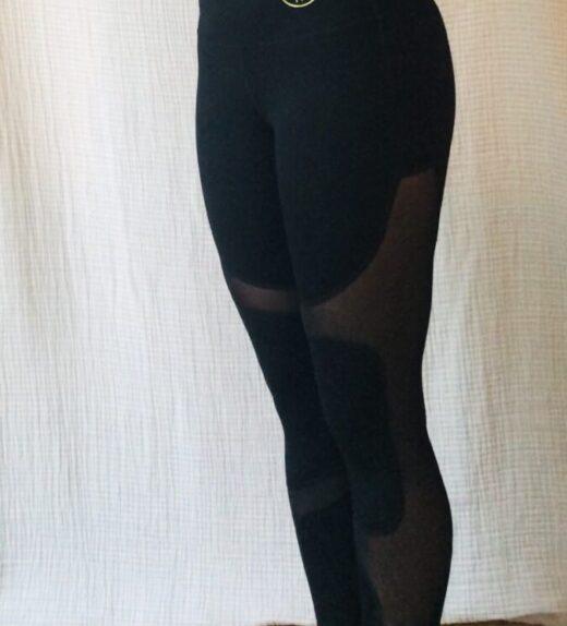 leggings mesh capri