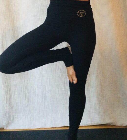 leggings with heel
