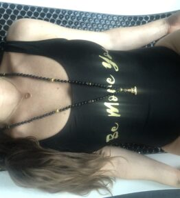 New! VACKRALIV YOGA Yoga&Swim BE MORE YOU gold/black