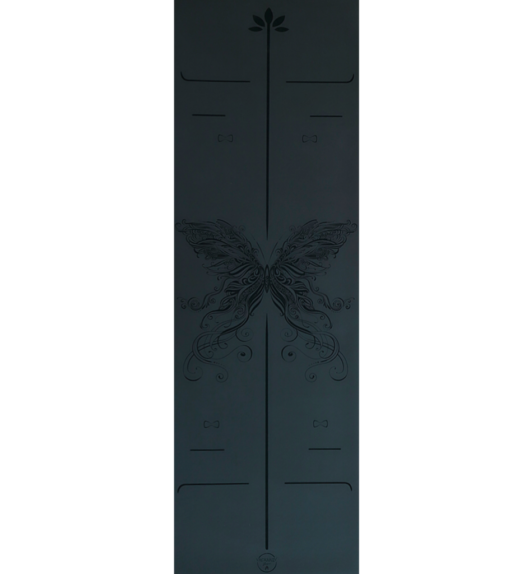 butterfly black yogamatta