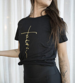 t-shirt faith