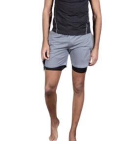 New! VACKRALIV YOGA&MEN DRY-FIT Shorts + innerbyxa, grey