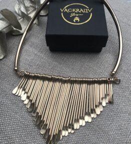 SALE! VACKRALIV YOGA Dressy Bohemian drops Necklace, gold