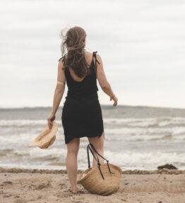 SALE! VACKRALIV YOGA Yoga&Swim Beach dress, black