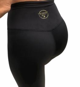 New! VACKRALIV YOGA MAGICAL DRY-FIT SKIN LEGGINGS Extra High, black